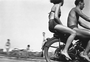 Motocyclistes au lac Balaton